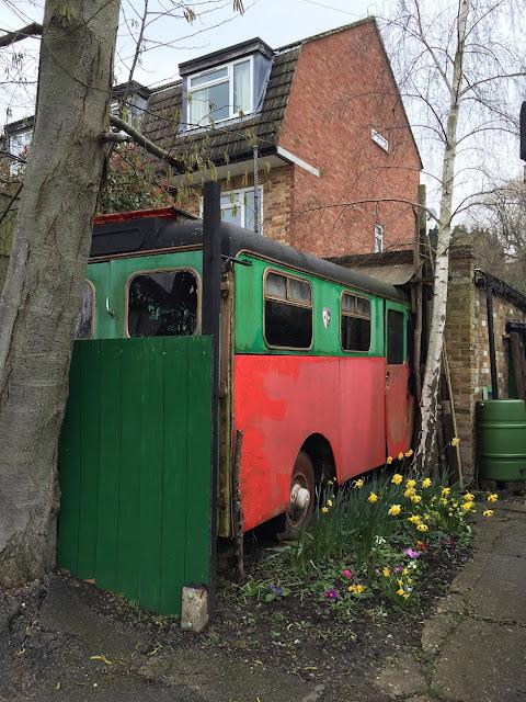 Old van, Tudor Road, Barnet EN5