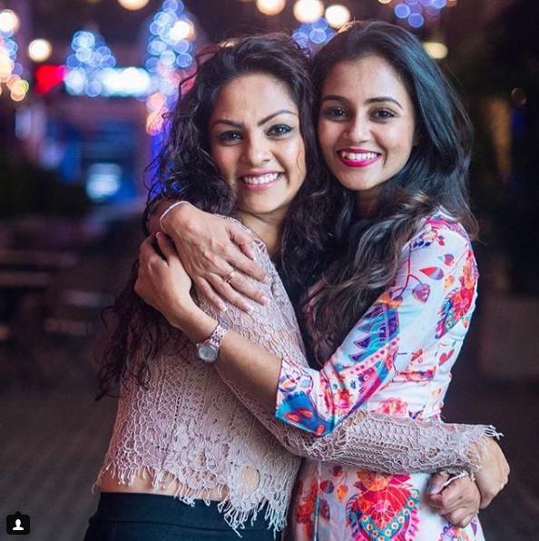 Shalani Tharaka With Dinakshie Priyasad