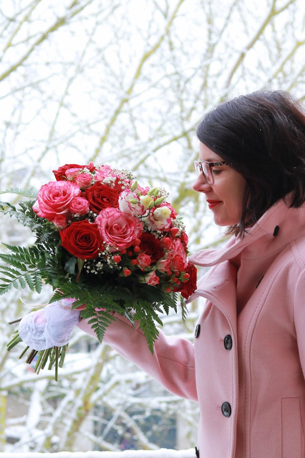 les gommettes de melo interflora fleurs saint valentin roses bouquet offrir amoureux valentine rose rouge