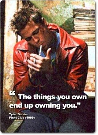 Fight Club best quotes Brad Pitt