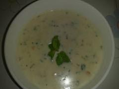 حساء بفواكه البحر