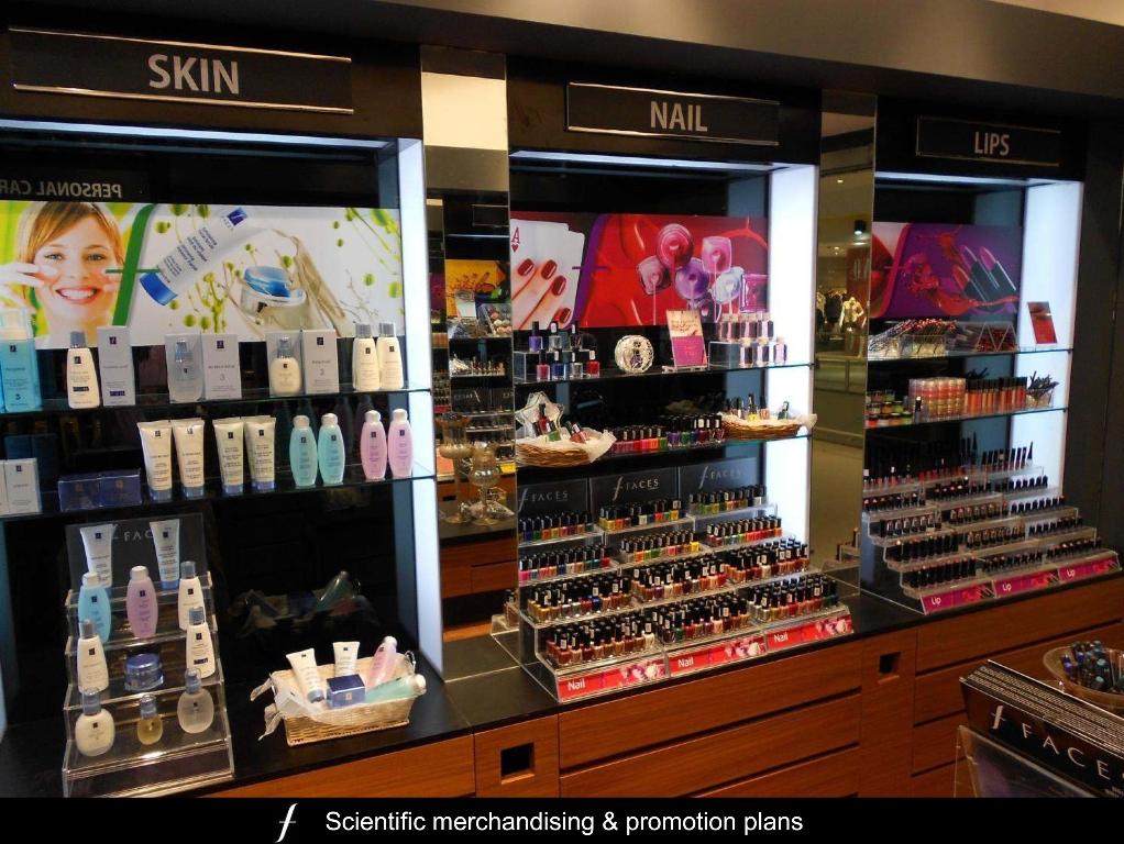 Makeup stores