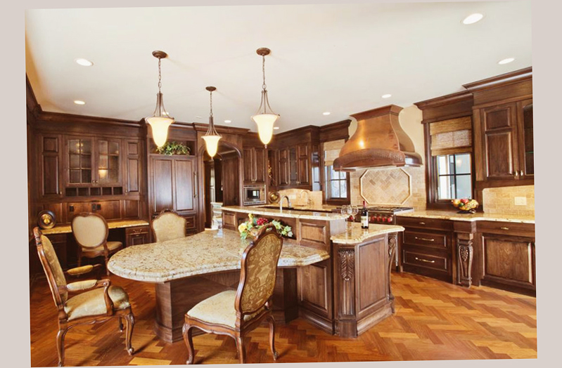 Gourmet kitchen designs latest and best ellecrafts for Gourmet kitchen designs