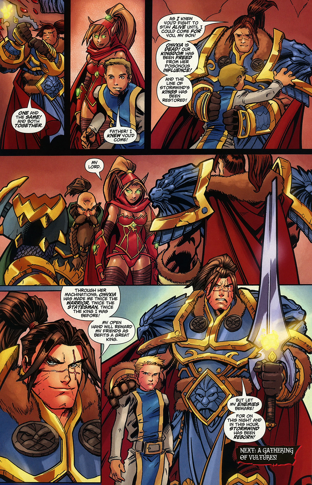 Read online World of Warcraft comic -  Issue #14 - 23