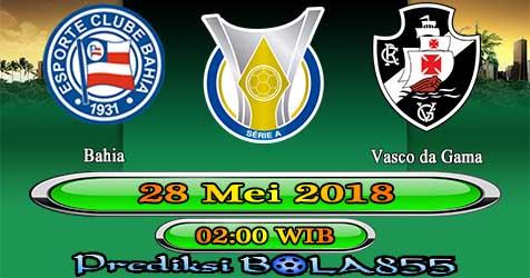 Prediksi Bola855 Bahia vs Vasco da Gama 28 Mei 2018