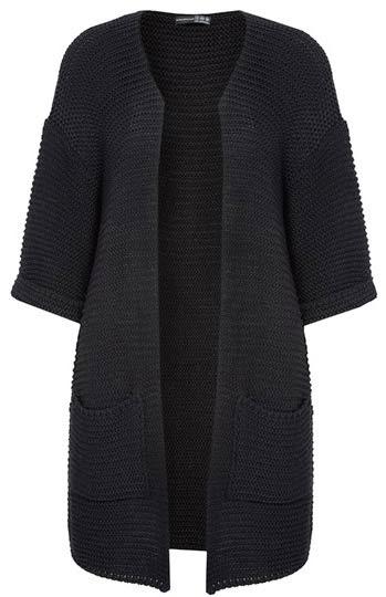Cárdigan en negro tipo kimono para mujer de Primark