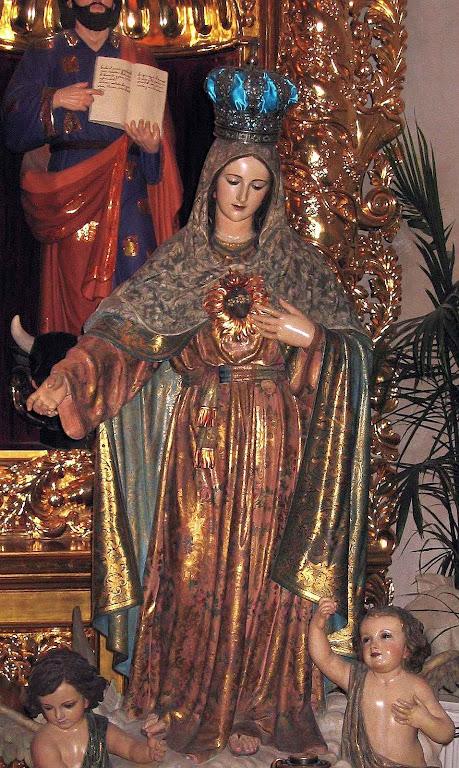 Imaculado Coração de Maria, catedral de São Fernando, Santo Antônio, Texas, EUA