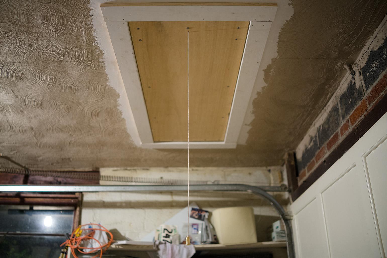 Brave New Home: Breezeway 10: attic interlude