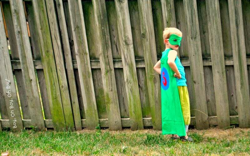 Handmade Costume Series: T-Shirt Superhero Cape and An (almost) No ...