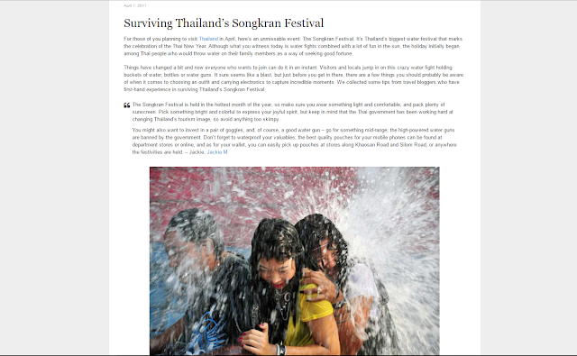 bowdywanders.com Singapore Travel Blog Photo Philippines South East Asia :: Thailand:: Feature: Surviving Thailand's Songkran Festival