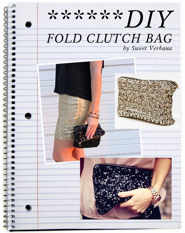 ...Flounces And Slashes...DIY Fashion: DIY folded sequin ...