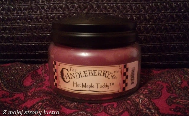 Świeca Candleberry Hot Maple Toddy