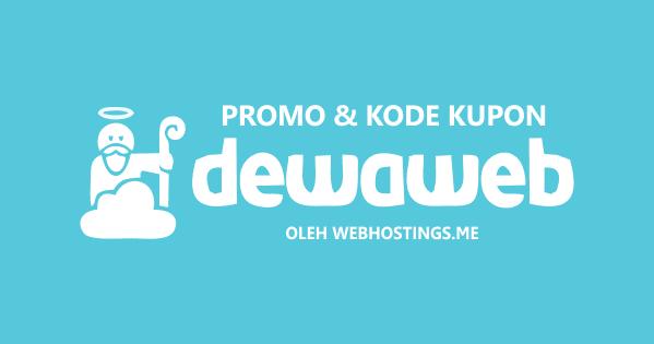 Diskon 50% Untuk Web Hosting Single Dewaweb 2020