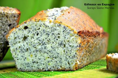 recette cake citron pavot