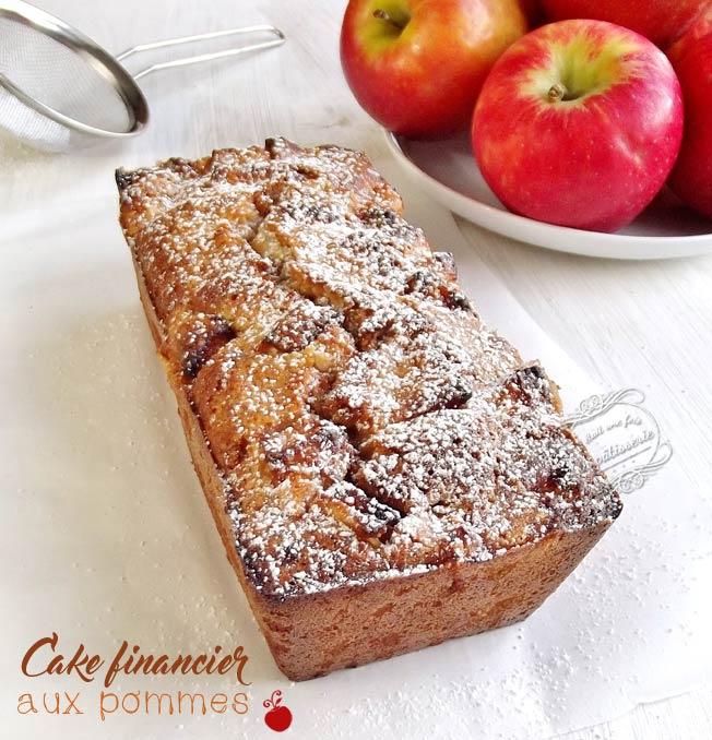 Cake Pomme Cannelle Facon Financier