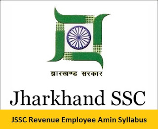 JSSC Revenue Employee Amin Syllabus