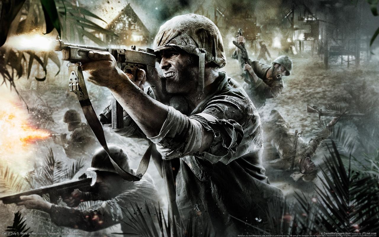 Call Of Duty World At War Wallpaper: Helga Weaver: Call Of Duty World At War Game Wallpaper