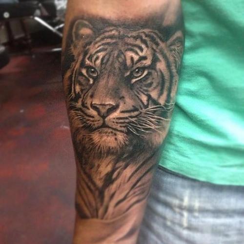 Espectaculares Tatuajes De Tigres Y Su Significado Belagoria La