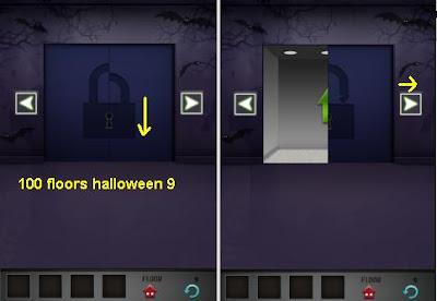 100 Floors Halloween Level 9