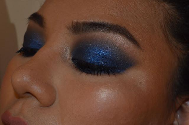 camden town, neve cosmetics, kim kardashian blu smoky, mario x kkw beauty palette, ombretti per occhi scuri
