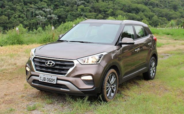 Ranking: 15 SUV's compactos mais vendidos no Brasil - mar/2018