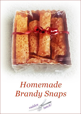 brandy snap biscuits
