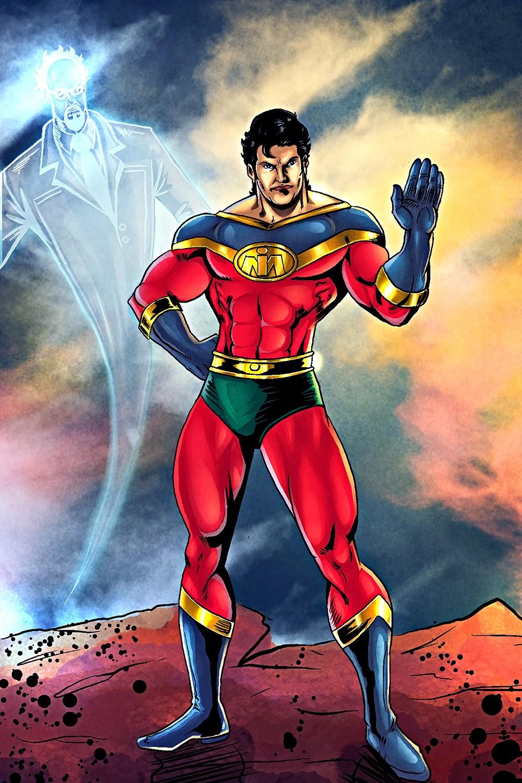Superhero Artwork