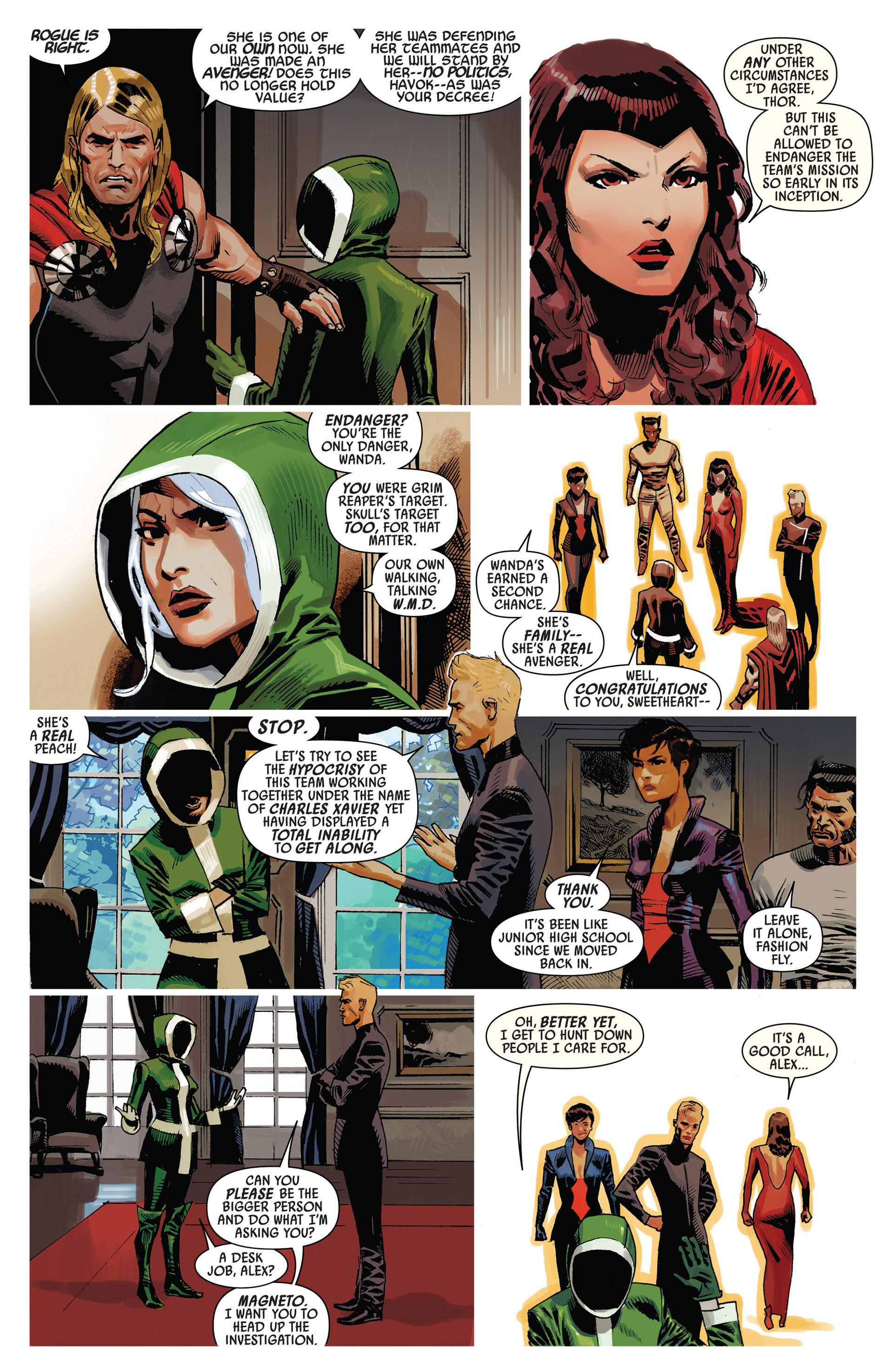 Read online Uncanny Avengers (2012) comic -  Issue #7 - 11