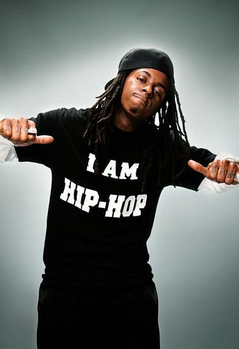 I AM HIP HOP T-shirt worn by Lil Wayne