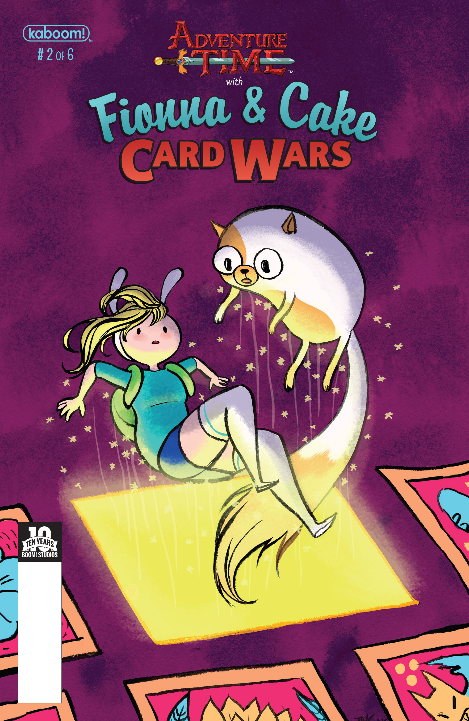 Adventure Time Fionna and Cake Card Wars 2 Page 1