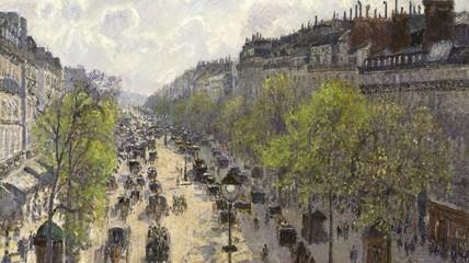 Boulevard Montmartre. Matinée de Printemps (1897), Camille Pissarro