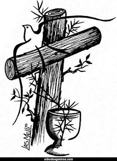 cruz catolica desenho artistico