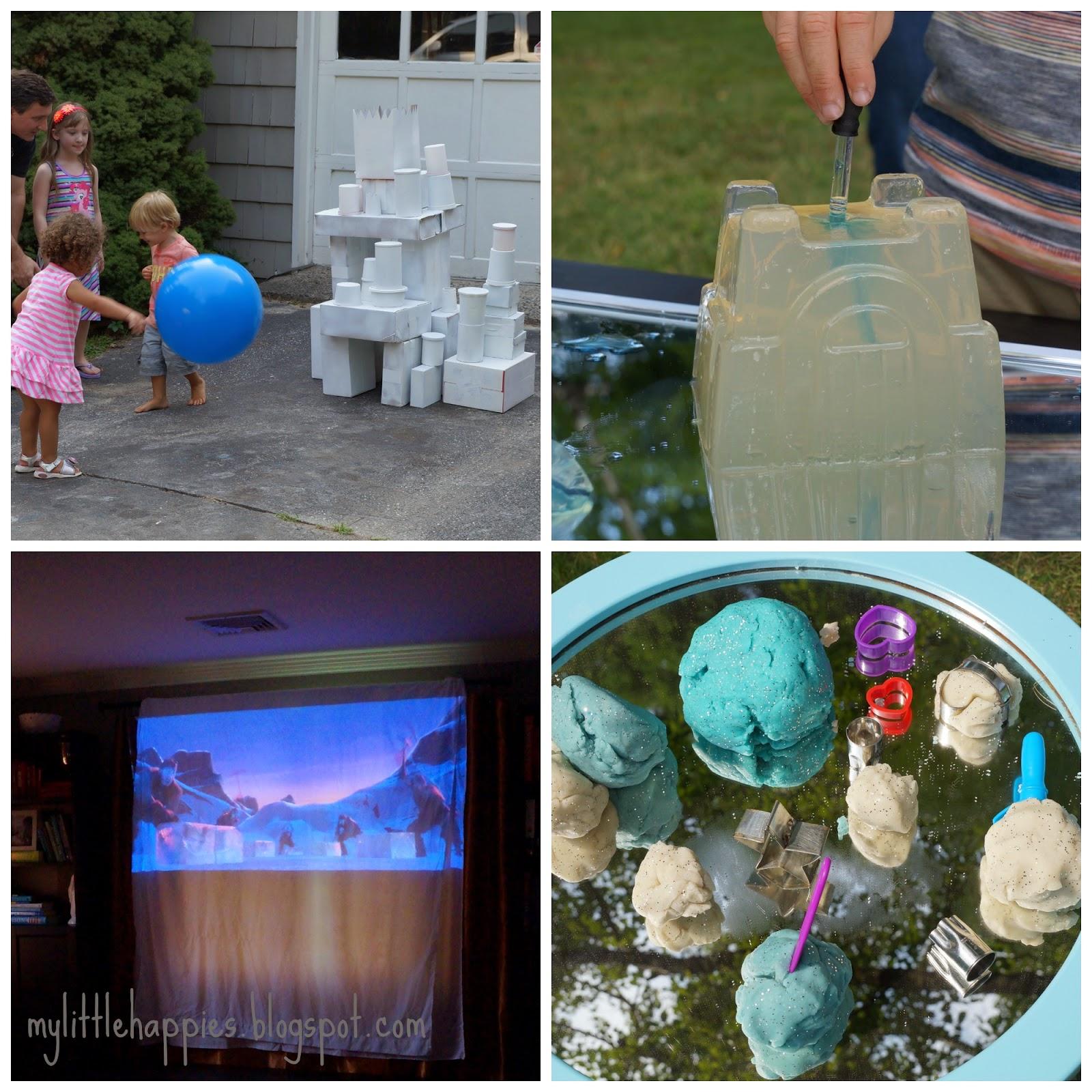 Astounding Little Happies Frozen Fun Inspired Art Sensory Camp Machost Co Dining Chair Design Ideas Machostcouk
