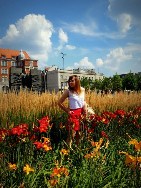 Czerwień w kwiatach