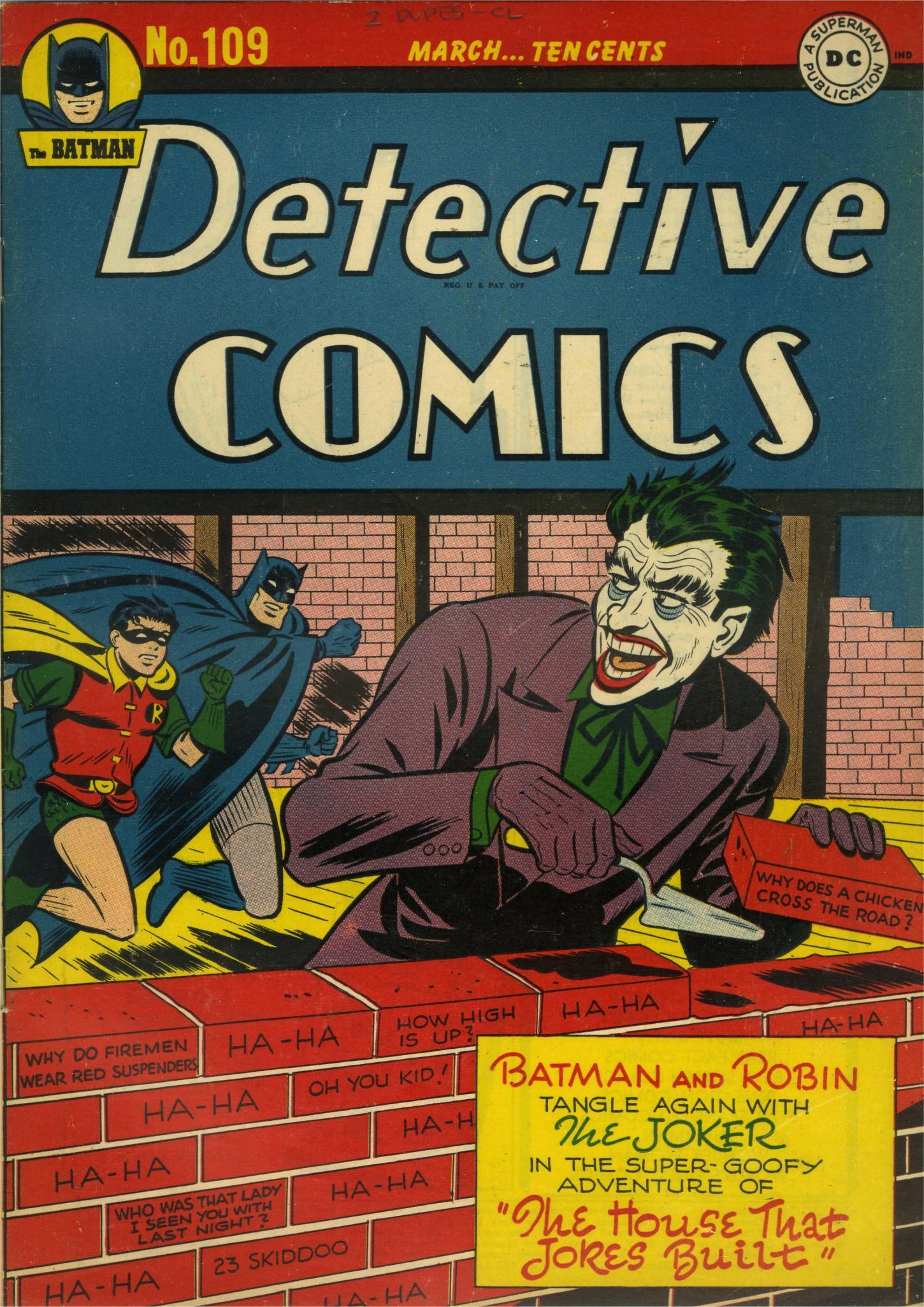 Detective Comics (1937) 109 Page 1