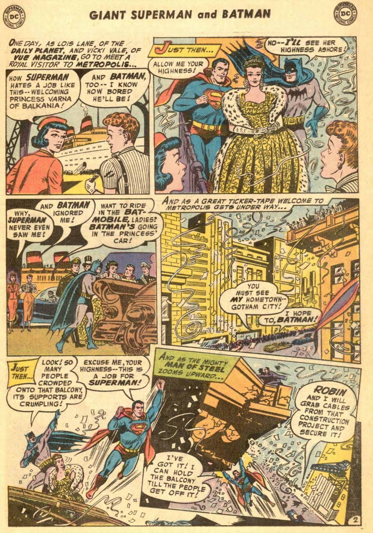 Read online World's Finest Comics comic -  Issue #188 - 5