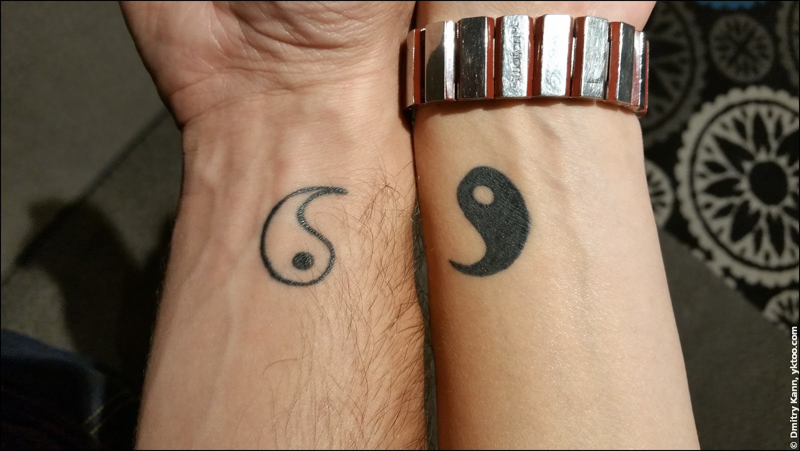 Yin & yang.