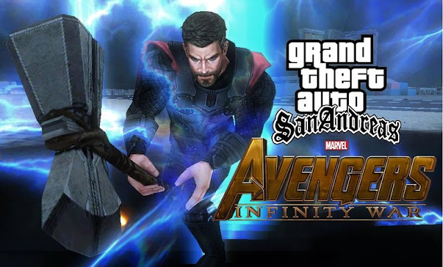 Download GTA San Andreas Thor infinity war Mod