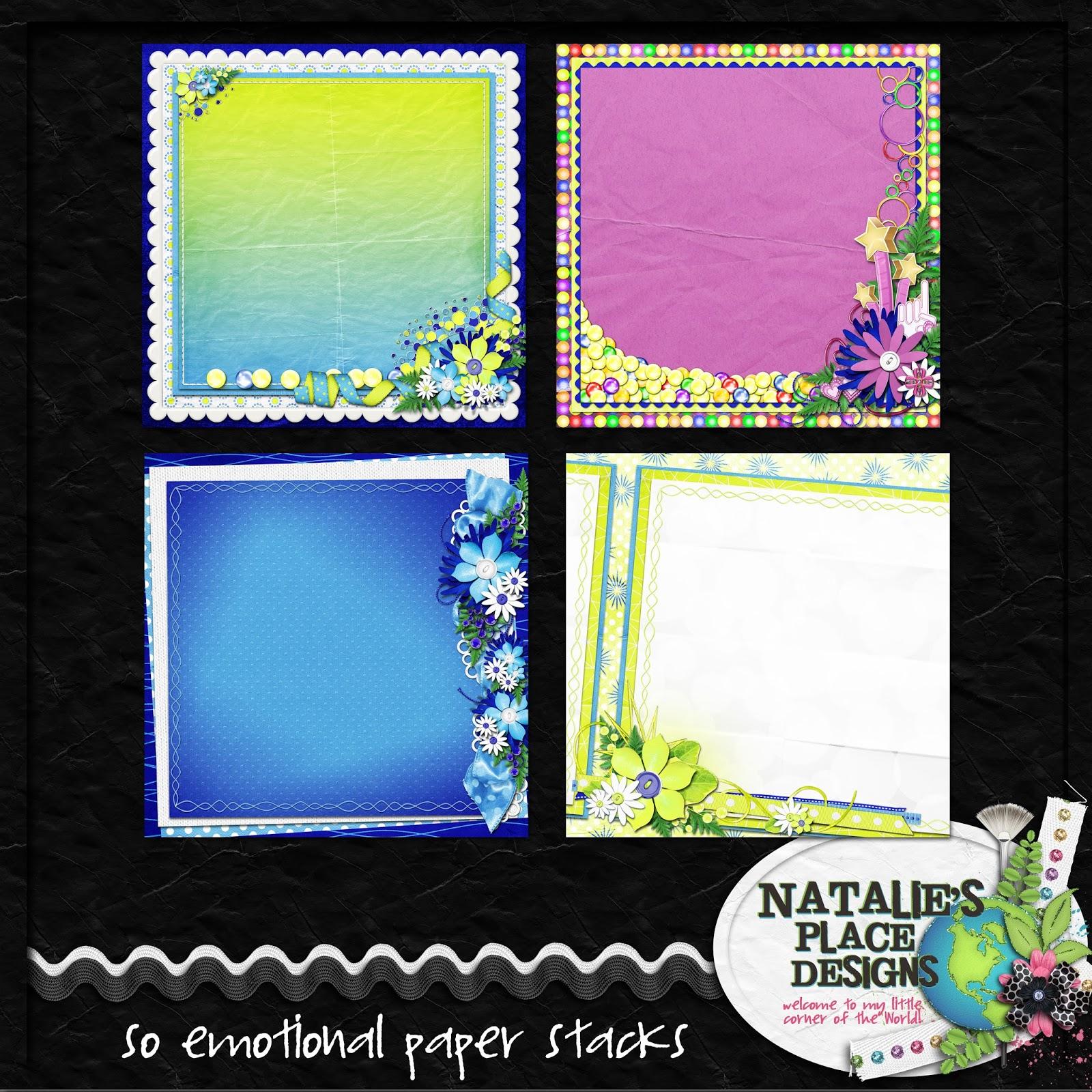 natalie designs scrapbook