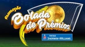 Cadastrar Promoção Bolada de Prêmios Tintas Sherwin-Williams 2018
