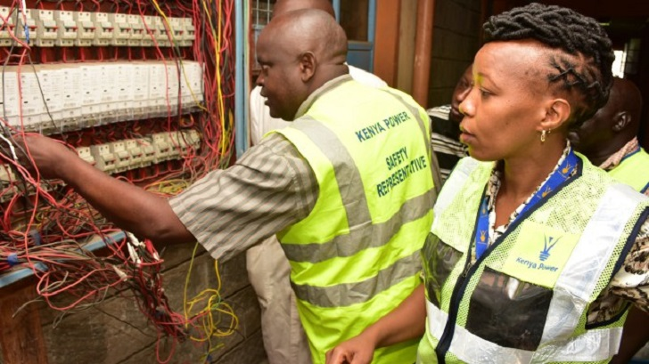 Kenya Power cracks down on illegal connections in Tassia Estate – Nairobi