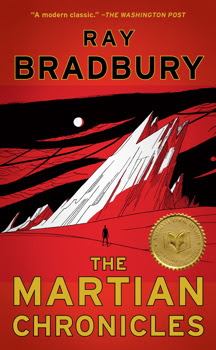 The Martian Chronicles by Ray Bradbury - book cover