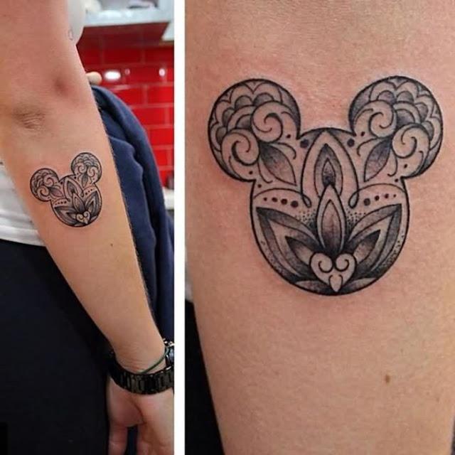Tatuagens de desenhos animados