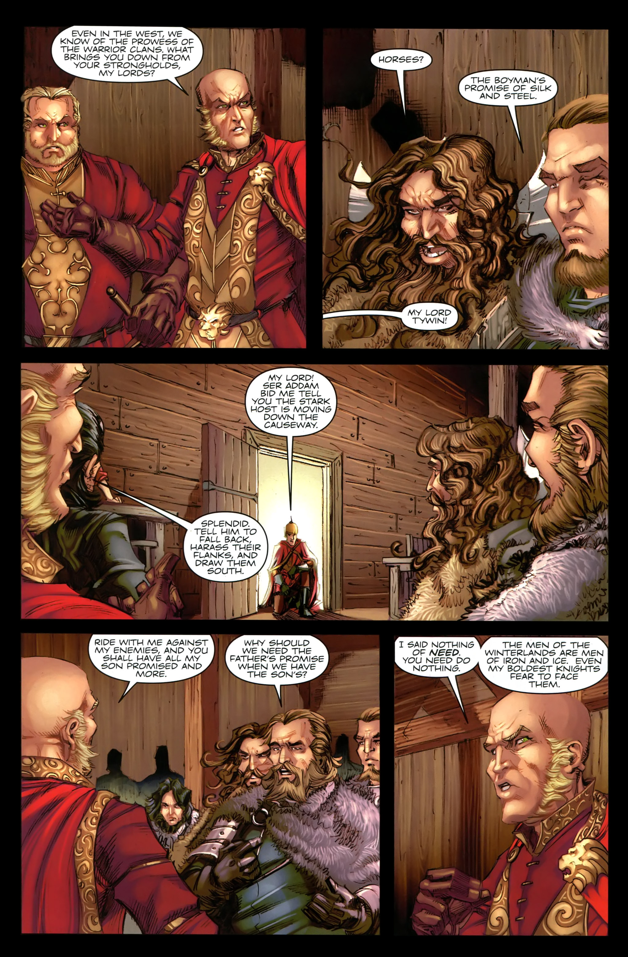 Read online A Game Of Thrones comic -  Issue #19 - 14