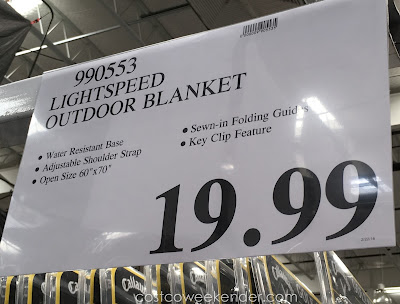 Deal for the Lightspeed Outdoor Blanket at Costco