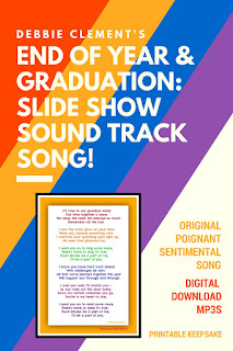 Kindergarten Graduation End-of-Year Slide Show Sound Track from Debbie Clement.