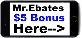 Get $5 Sign Up for Mr.Ebates! Get coupons and earn cashback!!