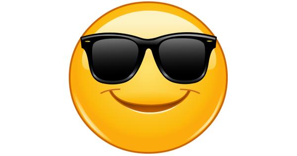 Cool Shades Smiley  Symbols  Emoticons