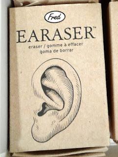 an earaser