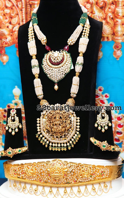 Temple Jewellery with Diamonds